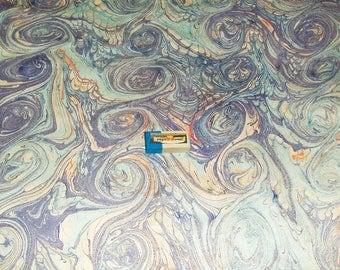 marbled paper,  cm 50 x 70   .carta marmorizzata,  -  918
