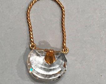Swarovski Crystal Miniature Handbag Crystal Memories Special Treasures Collection