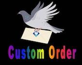 CUSTOM ORDER for Joy -  8 tanka poetry cards