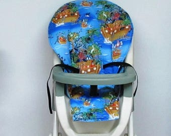 Evenflo high chair cushion, high chair cover, highchair replacement pad,cushion,baby accessory, baby furniture and child care, Noah's birds