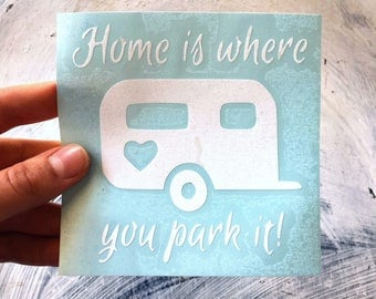 Camper Vinyl Decal