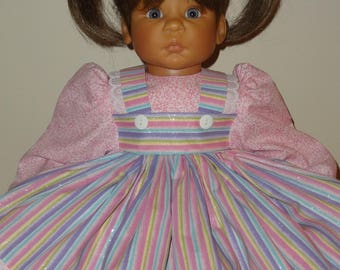Dress, Pantaloons, Bows for 22-24 inch Lee Middleton Doll