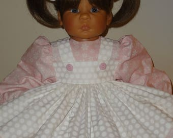 Dress, Pantaloons, Bows for 21-24 inch Lee Middleton doll