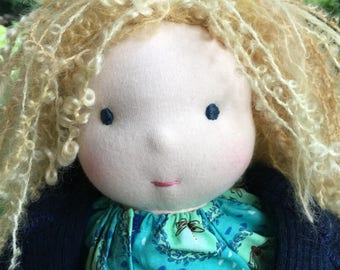 Waldorf Doll 16 inch Waldorf inspired Noble Doll River