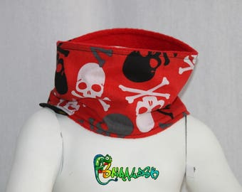 SNOOD RED 3 CT CHILD SIZES 2/3 YEARS, 4/6 AND 8/12 YEARS