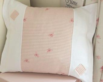 Handmade Cushion Linen Lolly And Boo Designer Fabric