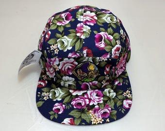 Strap-back Flat-Brim Hat - Dopeish (One-of-a-kind)