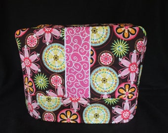 READY to SHIP--Freddy) Sewing Machine Cover in Micheal Miller  Fabric