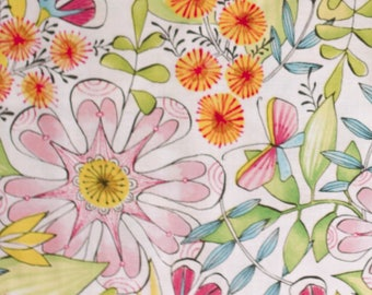 Always In Bloom, White Floral, Cori Dantini