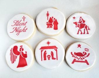 Nativity cookies (1 dozen)