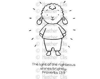 Rubber stamp, Paper crafting and scrapbooking, Sunday school craft, Bible stamps, Bible verse stamp, Encouragement gifts, Christian Stamp