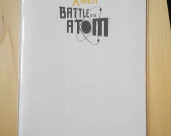Xmen battle of the Atom issue 1 blank sketch cover comic marvel boo rudetoons cartoon cosplay wolverine avengers HarleyQuinn altgirl