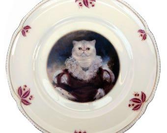"""Queen Nadira of Persia Plate 8"""""""