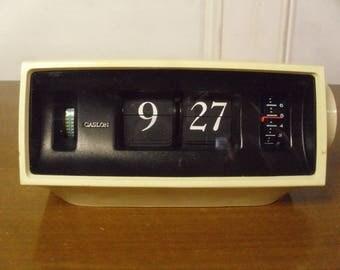 Vintage 1960's/1970's  Caslon 701  Flip Clock As Is