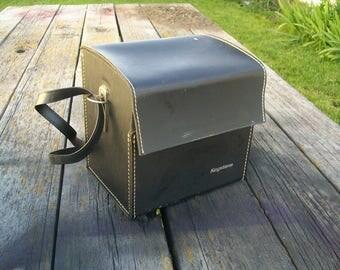 Vintage Keystone Camera Case Leather Hardcase