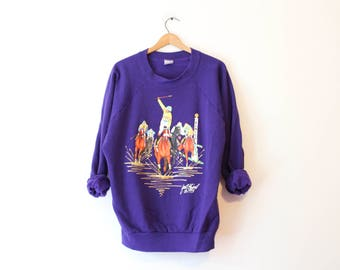 Vintage Kentucky Derby Horse Sweatshirt