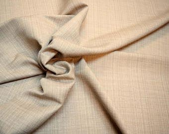Grey Textured Curtain Fabric