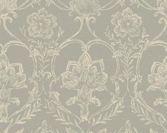 KC1820 Sheer Fabric Damask Wallpaper
