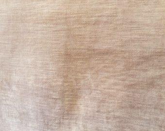 Gold Brown Velvet Upholstery Fabric