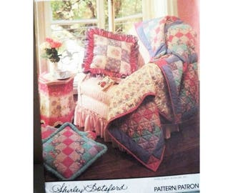 Simplicity Quilting Pattern Book - Shirley Botsford Design - Uncut