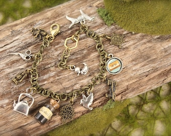 Over the Garden Wall Inspired Charm Bracelet