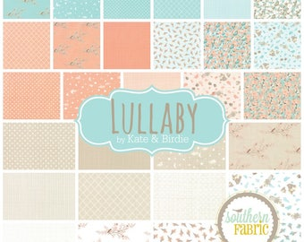 """Lullaby - Layer Cake for Moda - 42 - 10""""x10"""" Fabric Quilting Strips"""