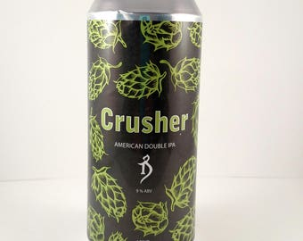Crusher, The Alchemist Brewery, Craft Beer Candle, Custom Soy Candle, Custom Candle Scent, Man Cave Candle, Craft Beer Gift
