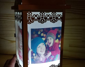 Personalized Baby Night light Lantern Baby gift Nursery decor light  unique lamps gift for mom
