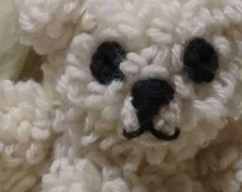 Huggable Crocheted Bear