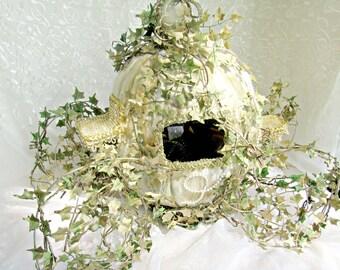 Original Cinderella Princess Fairy Tale  carriage card holder original  centerpiece  showers,  birthdays, celebrations,