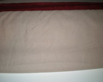 """Suede Cloth Fabric 58"""" wide Sold By The Yard Various Colors"""