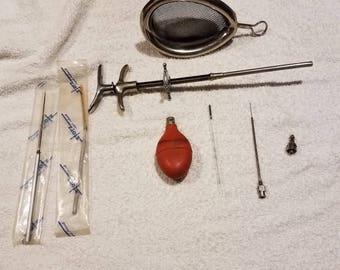Set of 6 Medical/Dental Tools