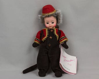 Winged monkey doll Madame Alexander 8 inches, 1994, In original box Wizard of Oz Pristine condition Made in the USA