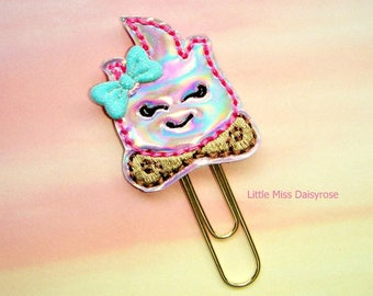 Campfire Holographic Planner Clip Paperclip
