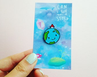 Planet Home Pin