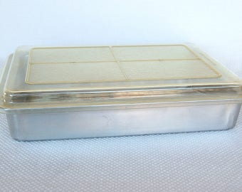Vintage Mirro 13 X 9 Cake Pan With Slider Lid Model 5488m