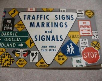 1962 Ontario Department of Transport, Traffic Signals Booklet