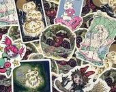 Pabkins original art - Vinyl Sticker of original illustrations