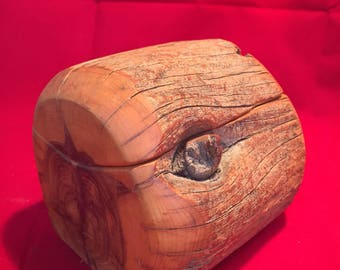 Carved Wooden Trinket Box