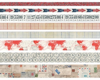 Postal Tim Holtz Ideaology Design Tape Postal