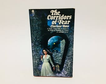 Vintage Gothic Romance Book The Corridors of Fear by Clarissa Ross 1971 Paperback