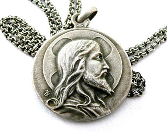 Face of Jesus Necklace