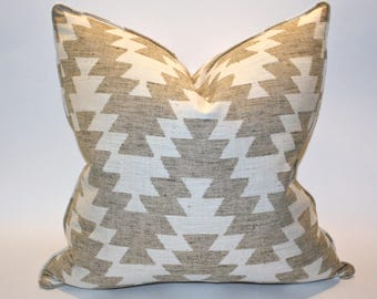 Southwest 20x20 Decorative Pillow Cover, Cushion Cover, Throw Pillow