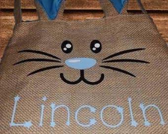 Custom Easter Bunny Bag