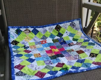 Tiny Postage Stamp Quilt