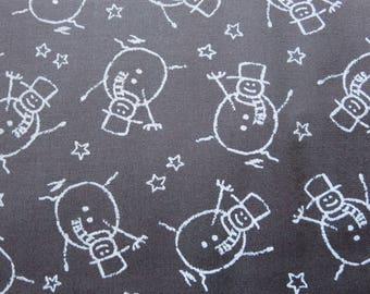 Merry Scriptmas -3326111 - Moda Seasonal Holiday Christmas Snowman Blackboard