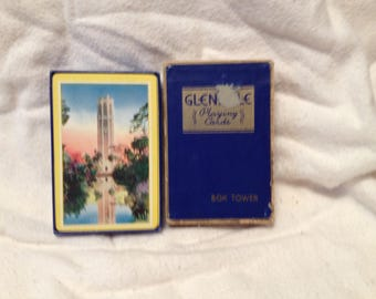 Vintage Bok TowerPlaying Cards Arrco Boxed