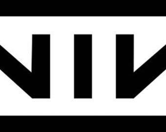 Nine Inch Nails Logo vinyl decal