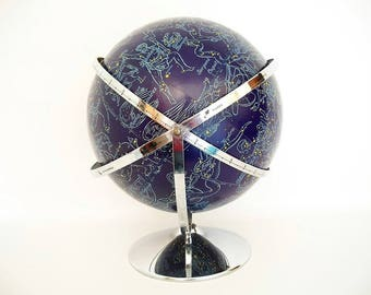 Vintage Celestial Globe Rand McNally Edited By Dr. Lee - Highly Collectible