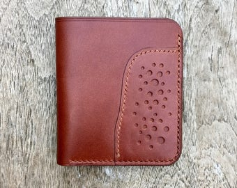 Orso Wallet - Brown English Bridle Leather - mens leather wallet - leather wallets for men - gents wallet - handmade leather - man wallet